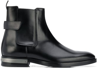 Balmain Chelsea leather ankle boots
