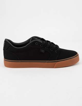 DC Anvil TX Black & Gum Mens Shoes