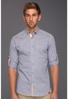 Ecko Unlimited Slim Fit Hollywood Shirt (Blue Suede) - Apparel