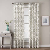 CHF Lotus Harmony Rod-Pocket Curtain Panel
