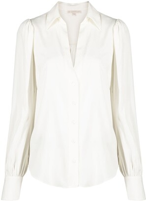 Gold Hawk Slot Neckline Shirt