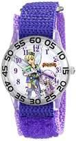 Disney Kids' W001675 Tinker Bell Analog Display Analog Quartz Purple Watch