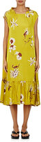 Dries Van Noten Women's Dazell Floral-Print Tent Dress