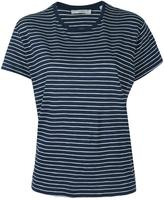 Vince striped relaxed T-shirt - women - Supima Cotton - S