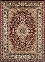 "Kenneth Mink KM Home Area Rug, Princeton Ardebil Red 7'10"" x 10'2"""
