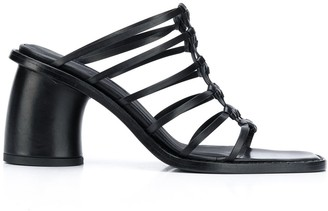 Ann Demeulemeester Strappy 85mm Slip-On Sandals
