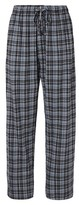 Hanes Premium Men's Hanes Premium® Knit Sleep Pant - Gray Plaid