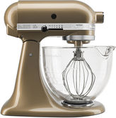 KitchenAid Kitchen Aid Artisan Design Series 5 Quart Tilt-Head Stand Mixer with Glass Bowl KSM155GB