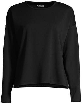 Eileen Fisher Travel Ponte Top