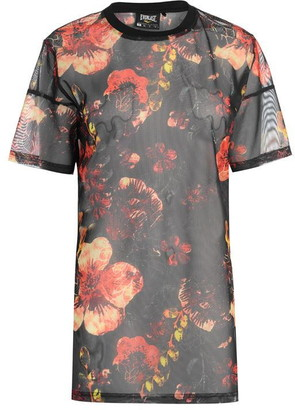 Everlast Patterned Mesh T Shirt Ladies