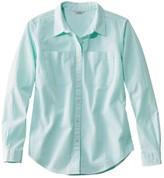 L.L. Bean L.L.Bean Women's Vacationland Seersucker Shirt, Long-Sleeve