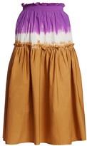 Sea Zelda Ombre Smocked Skirt