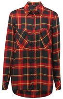 M&Co Red checked flannel shirt