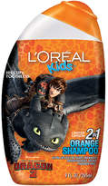 L'Oreal Kids How to Train Your Dragon 2 Extra Gentle 2-in-1 Shampoo Orange (Hiccup & Toothless)