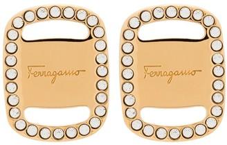 Salvatore Ferragamo Vara Plate earrings