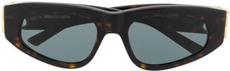 Balenciaga Eyewear Dynasty D-frame sunglasses