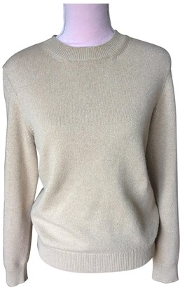 Chanel Gold Cashmere Knitwear