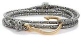 Miansai Men's Brass Hook Rope Wrap Bracelet