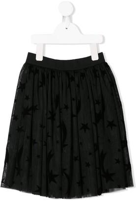 Stella McCartney Kids Star Print Tulle Skirt