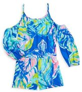 Lilly Pulitzer Toddler's, Little Girl's & Girl's Pull-On Cotton Romper