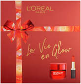 L'oréal Paris L'Oreal Paris La Vie En Glow Moisturiser and Lipstick Gift Set For Her 2 x 50ml