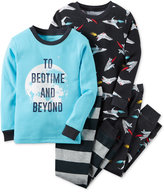 Carter's Boys' or Little Boys' 4-Pc. To Bedtime and Beyond Pajama Set