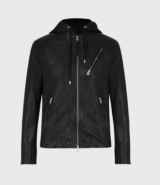 AllSaints Harwood Leather Biker Jacket