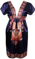 Paisley Satin Dress