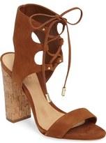 Schutz Cruz Lace-Up Cuff Sandal (Women)