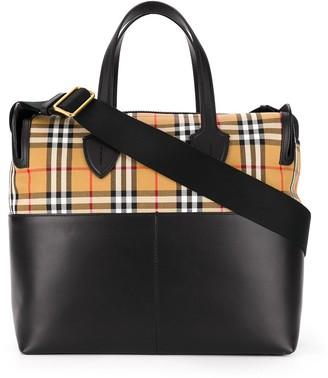 BURBERRY KIDS Vintage Check Shoulder Bag