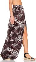 Michael Lauren Indy Wrap Maxi Skirt