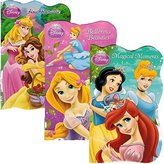 DisneyÃÂ'Ã'® Princess Disney® Princess Board Books (Set of 3 Shaped Board Books) Ariel, Cinderella, Snow White, Belle, Tiana by Disney Interactive Studios