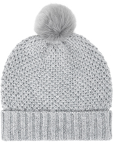 Monsoon Nalani Knot Stitch Sparkle Beanie Hat