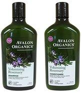 Avalon Rosemary Volumizing Shampoo & Conditioner, 11 oz each