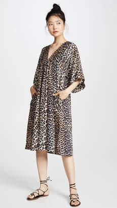 Ganni Cotton Silk Everyday Dress