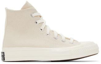 Converse Beige Chuck 70 High Sneakers