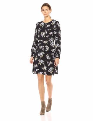 Velvet by Graham & Spencer Women's Winola Printed Challis Dress