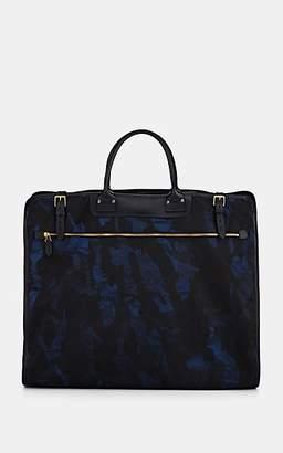 Felisi Men's Leather-Trimmed Garment Bag - Blue