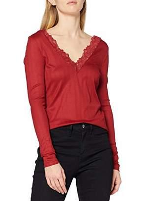 Only Women's ONLRIO L/S V-Neck TOP JRS Longsleeve T-Shirt,10 (Size: S)