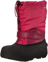 Columbia Powderbug Forty Youth US 6 Pink Winter Boot