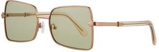 Karen Walker Wisdom Square Metal Sunglasses