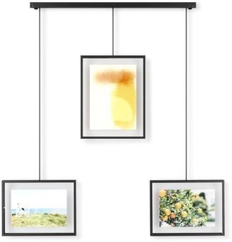 Umbra Exhibit 3OP Multi Photo Display Frame Black