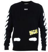 Off-White Logo Print Sweater