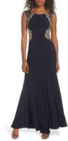 Xscape Evenings Women's Embellished Jersey Gown