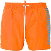 DSQUARED2 side logo swim trunks - men - Cotton/Polyester - 46
