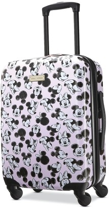 American Tourister Disney's Minnie Mouse Minnie Loves Mickey Hardside Spinner Luggage