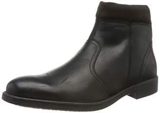 Geox Men's U Jaylon K Classic Boots, Brown (Dk Coffee C6024)