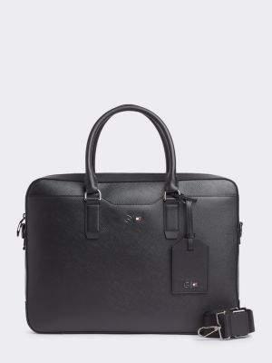 Tommy Hilfiger Mercedes Benz Leather Computer Bag