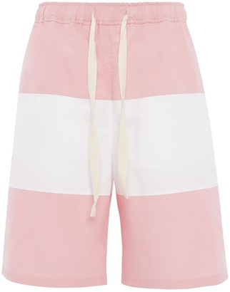 J.W.Anderson Panelled Deck Shorts