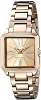 "Kenneth Cole New York Women's KC4983 ""Classic"" Rose Gold-Tone Watch with Link Bracelet"